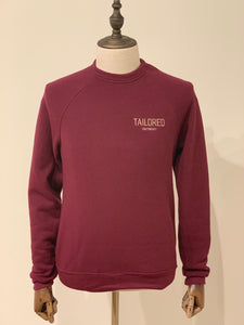 Maroon Embroidered Crew