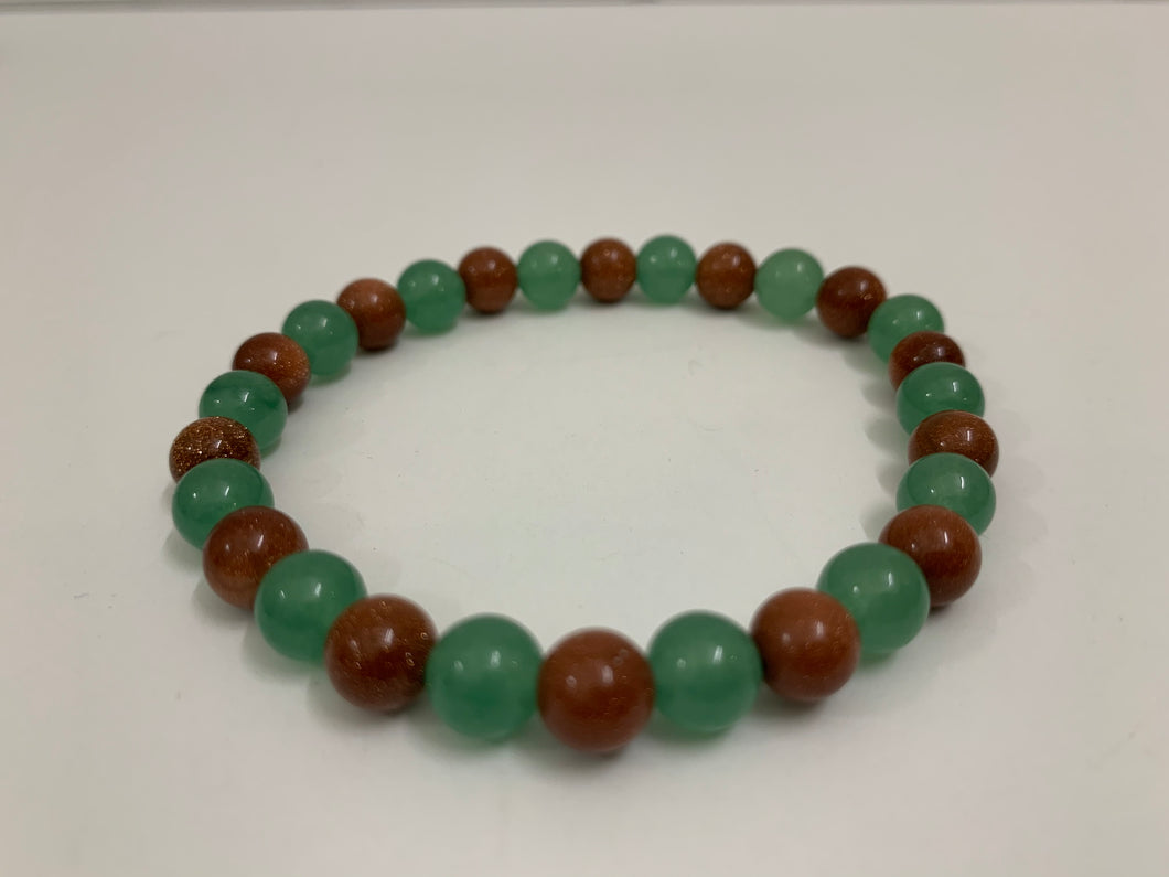 Green & Copper Bracelet