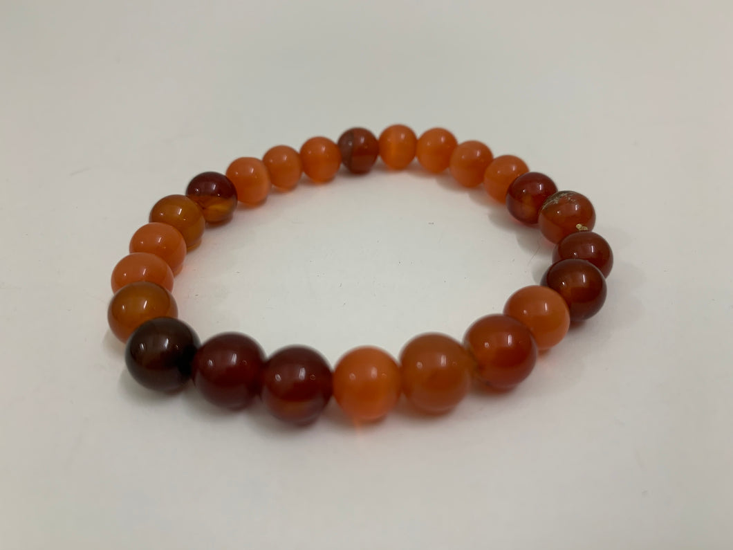 Shades of Orange Bracelet