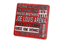 Load image into Gallery viewer, Joe Louis Typography Coaster