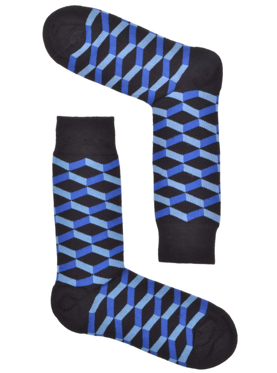 Blue Hex Socks