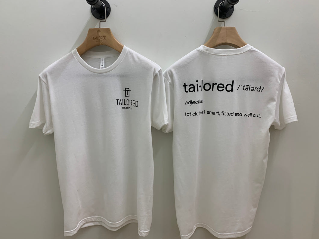 The Tailored Tee
