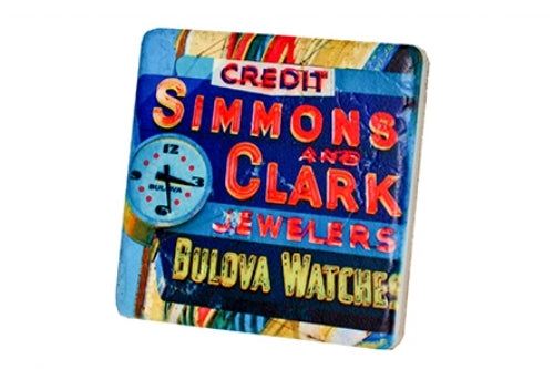 Simmons and Clark Coaster