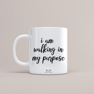 FL;P - Walking In Purpose Coffee & Tea Mug
