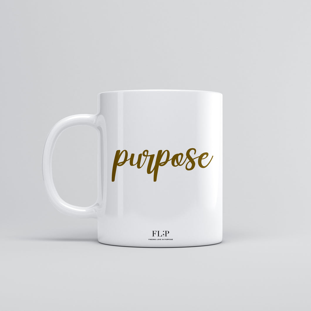 FL;P - Purpose Coffee & Tea Mug (Gold)