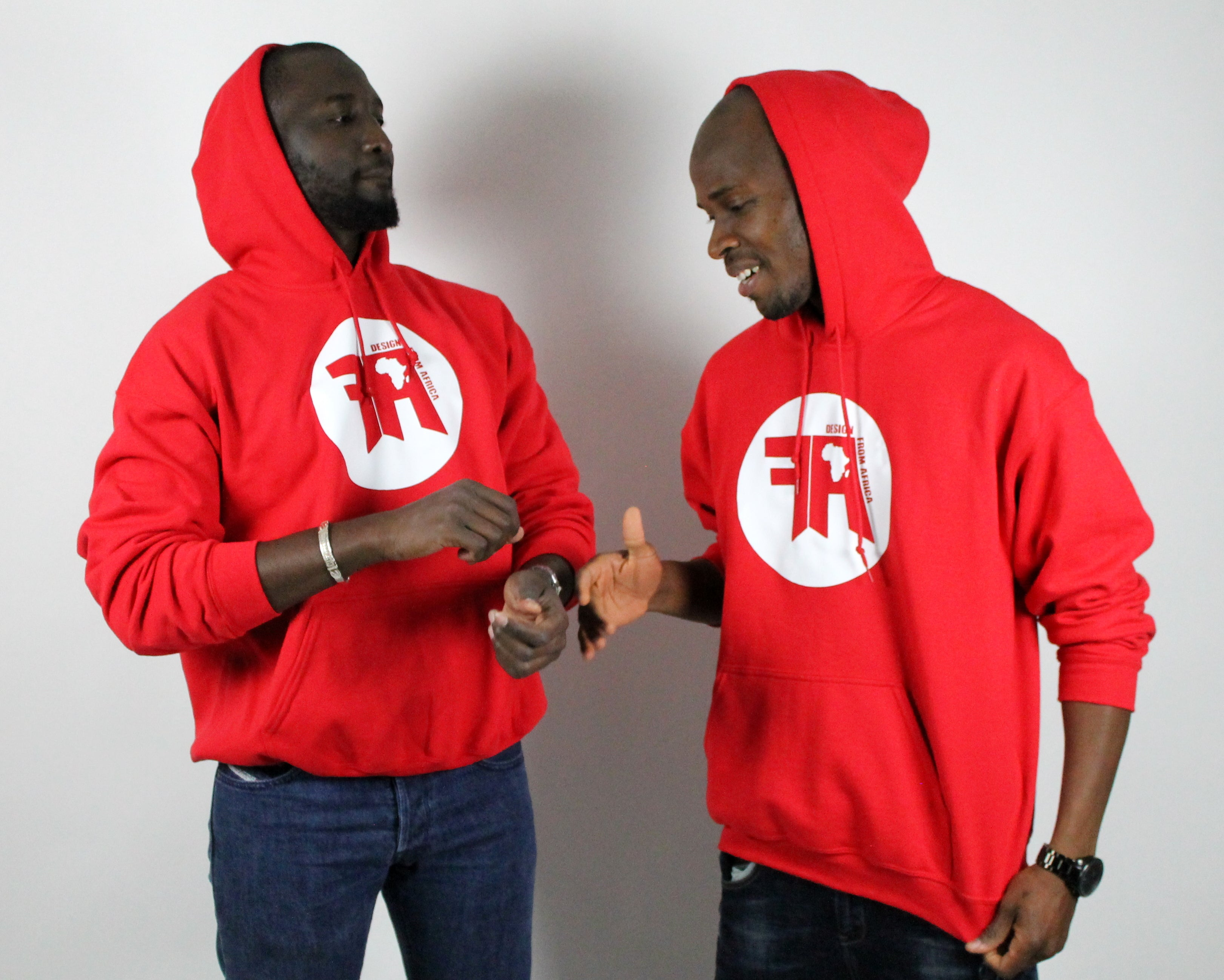 Classic DFA Unisex Heavy Blend Hoodie Red