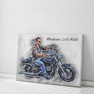 Custom Biker Canvas
