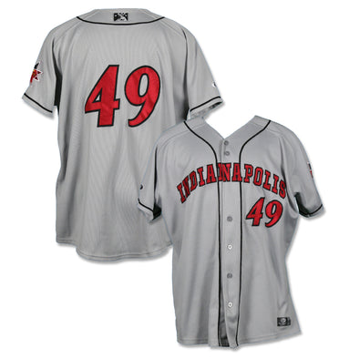 Indianapolis Indians #49 Game Worn Road Jersey