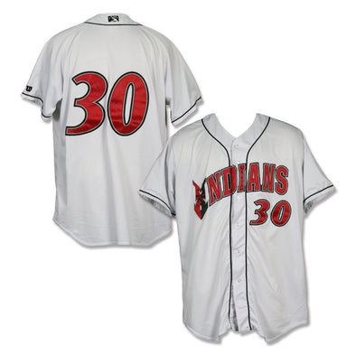 Indianapolis Indians #30 Game Worn Home Jersey