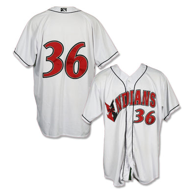 Indianapolis Indians #36 Game Worn Home Jersey