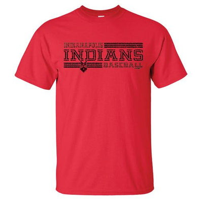 Indianapolis Indians Red Constant Tee