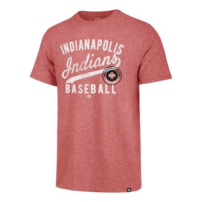 Indianapolis Indians '47 Red Grandstand Match Tee