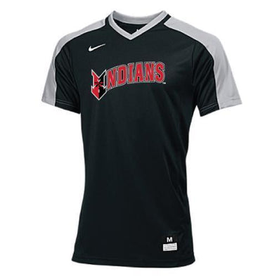 Indianapolis Indians Black Adult Nike Game Top Jersey