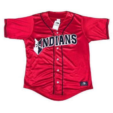 Indianapolis Indians Adult Red Replica Jersey