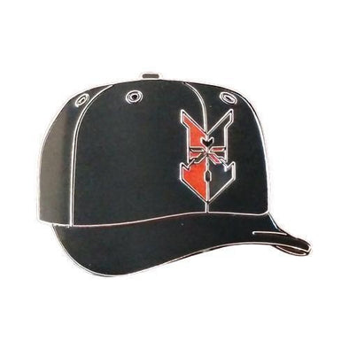 Indianapolis Indians Black Road Cap Lapel Pin