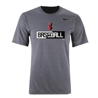Indianapolis Indians Grey Nike Fire Dri-FIT Tee