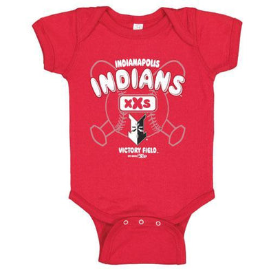 Indianapolis Indians Infant Red Make Bodysuit