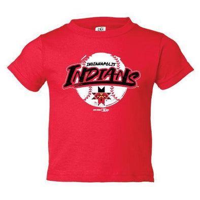 Indianapolis Indians Infant Red Rated Tee