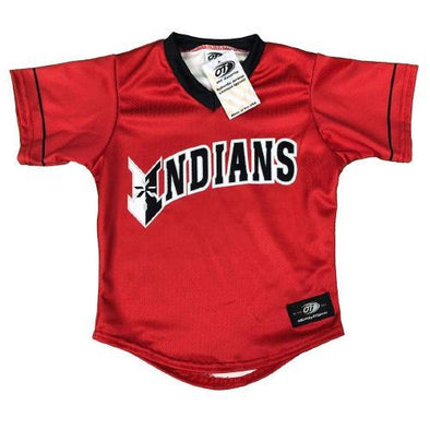 Indianapolis Indians Red Replica Toddler Jersey