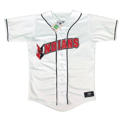 Indianapolis Indians Youth White Home Replica Jersey