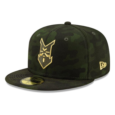 Indianapolis Indians Armed Forces New Era Camo Authentic 5950 Cap