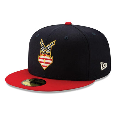 Indianapolis Indians 2019 New Era Stars and Stripes 5950 Cap