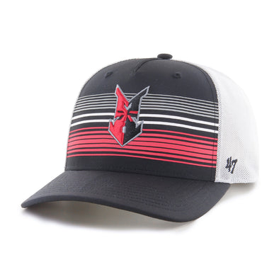 Indianapolis Indians '47 Black Highland Mesh MVP Adjustable Cap