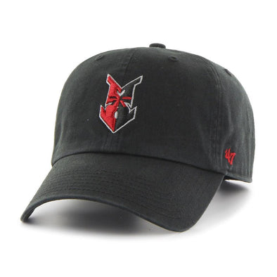 Indianapolis Indians '47 Black Road Clean Up Adjustable Cap