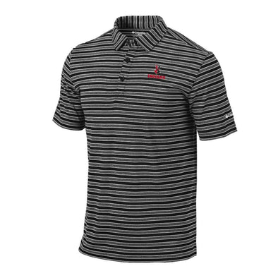 Indianapolis Indians Black Columbia Omni-Wick Members Polo