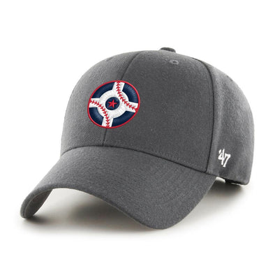 Indianapolis Indians '47 Circle City Grey Sure Shot MVP Adjustable Cap