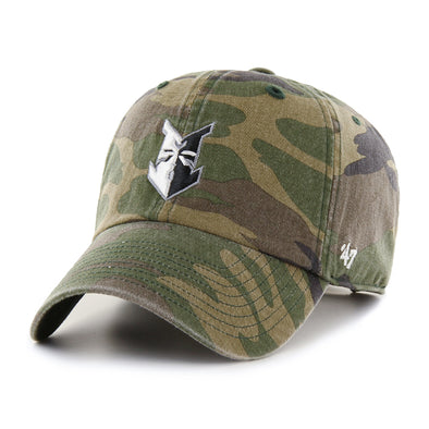 Indianapolis Indians '47 Forest Camo Clean Up Adjustable Cap