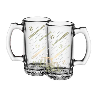 Indianapolis Indians 13oz. Glass Beer Mug