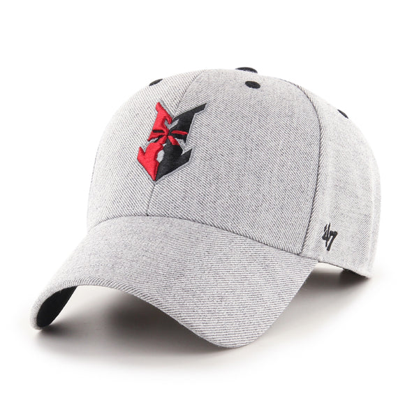 Indianapolis Indians '47 Grey Storm Cloud MVP Adjustable Cap