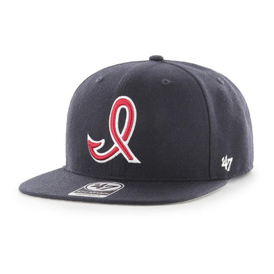 Indianapolis Indians '47 Navy 50's/60's Sure Shot Captain Snapback Adjustable Cap