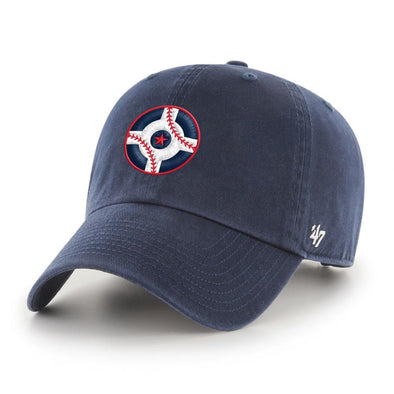 Indianapolis Indians '47 Circle City Navy Clean Up Adjustable Cap
