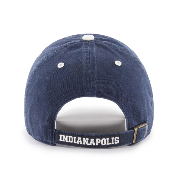 Indianapolis Indians '47 Navy 50's/60's Ice Clean Up Adjustable Cap