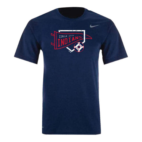 Indianapolis Indians Circle City Lumberking Nike Dri-FIT Tee