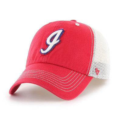 Indianapolis Indians '47 Red 70's/80's Taylor Closer Stretch Fit Cap