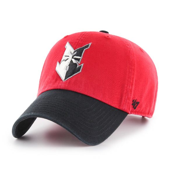 Indianapolis Indians '47 Adult Red/Black Home Clean Up Adjustable Cap
