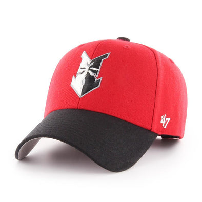 Indianapolis Indians '47 Red/Black Home MVP Adjustable Cap