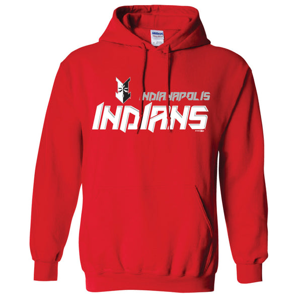 Indianapolis Indians Red Bologna Hood