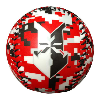 Indianapolis Indians Red Digital Camo Baseball