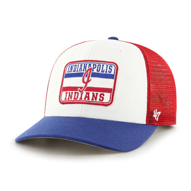 Indianapolis Indians '47 Red Evoke MVP Adjustable Cap