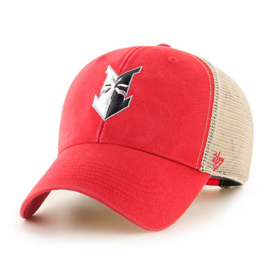 Indianapolis Indians '47 Red Flagship Wash MVP Adjustable Cap