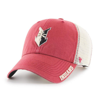 Indianapolis Indians '47 Red/Cream Frontier Clean Up Adjustable Cap