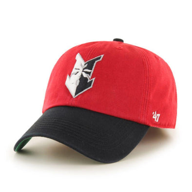 Indianapolis Indians '47 Red/Black Home Replica Franchise Cap