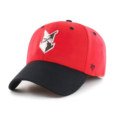 Indianapolis Indians '47 Red/Black Home Kickoff Two Tone Contender Stretch Fit Cap