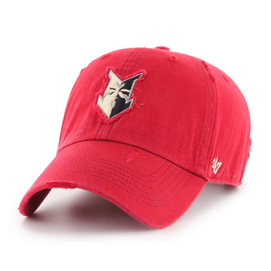 Indianapolis Indians '47 Red Millwood Clean Up Adjustable Cap