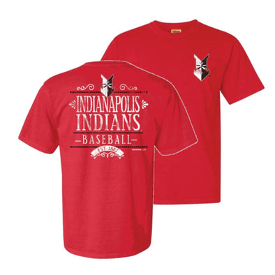 Indianapolis Indians Paprika Dots Comfort Colors Tee