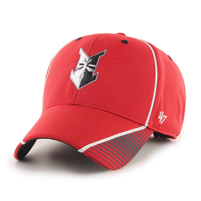 Indianapolis Indians '47 Red Radiate MVP Adjustable Cap